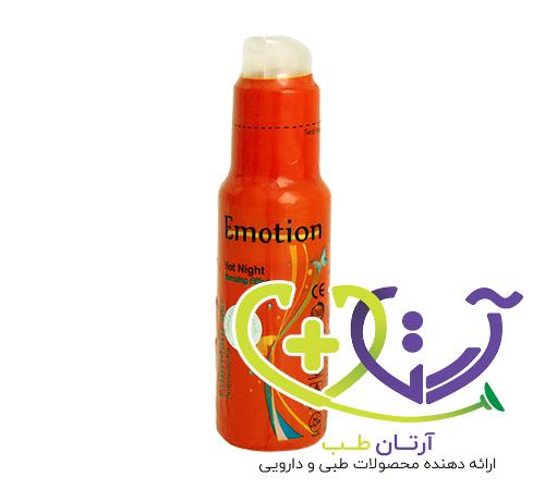 عکس ژل ایموشن نارنجی ؛ ژل گرم کننده و محرک بانوان